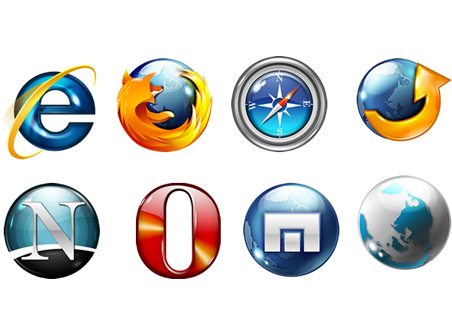 The Browsers Icons pack