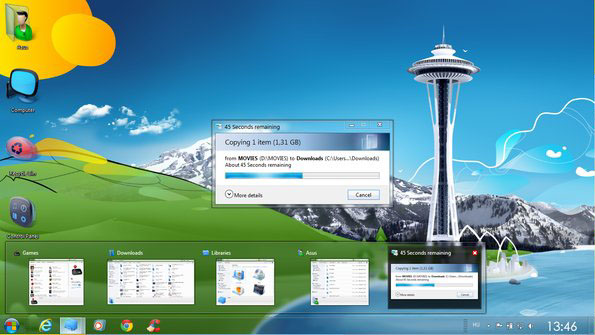 Desktop Themes / Windows 7 Themes - free Windows 7 Visual Styles ...