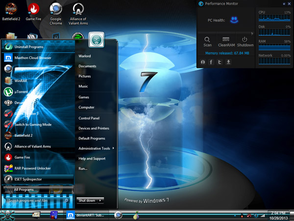 icons themes for windows 7 free