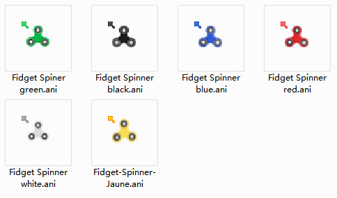 Fidget Spinners Mouse Cursors
