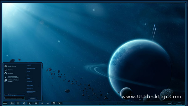 StarCraft 2 VS for Windows 8 / 8.1 desktop themes