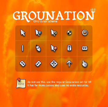 Grounation for CursorXP