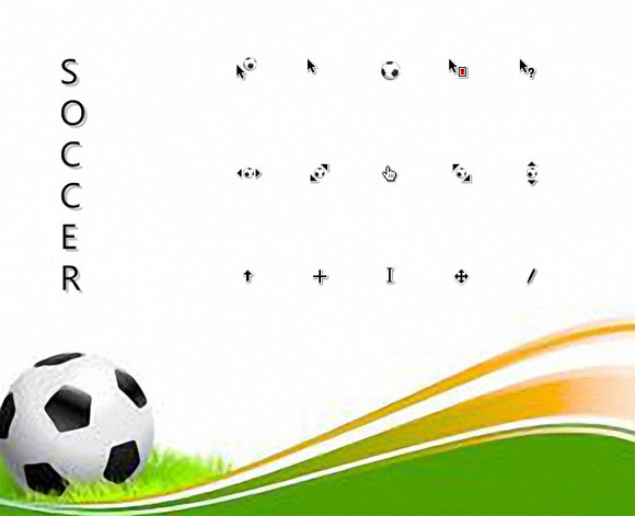 Soccer Cursors free download