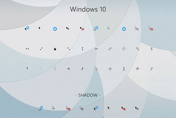 windows 10 cursors   free cool mouse cursors download