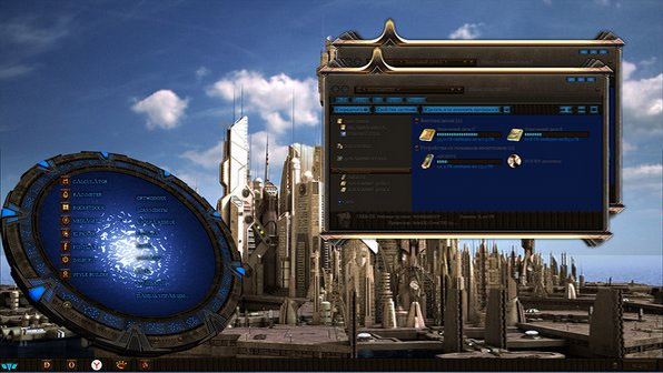 STARGATE. ATLANTIS theme for windows 7