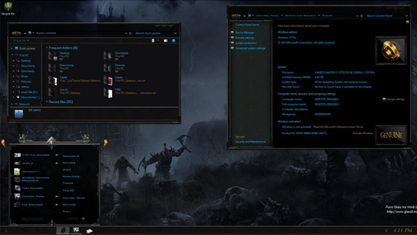 LOTR Mordor for Windows 10 Anniversary Update