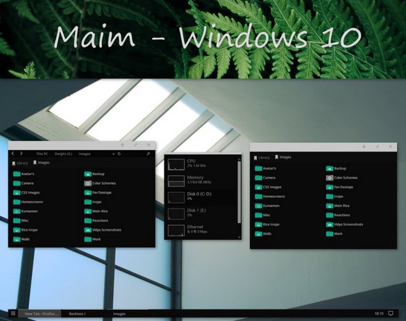 Maim W10 for windows 10 themes download