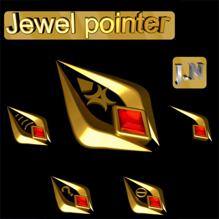 Jewel Pointer mouse cursors
