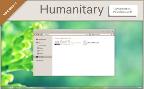 Humanitary for windows 10 themes download