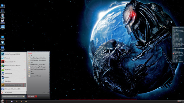 AVP VS7 for windows 7 theme download