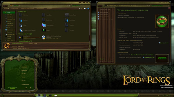 LOTR Middle Earth for Windows 10 Anniversary RS1