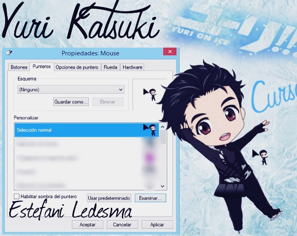 Yuri on Ice - Yuri Katsuki Cursor