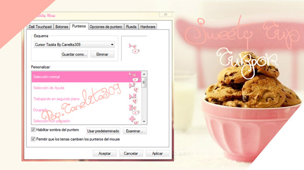 Sweet Cup Mouse Cursors