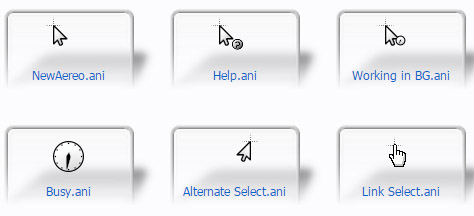 New Aereo Mouse Cursors
