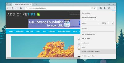 How To Open Pinned Websites In Your Default Browser In Windows 10