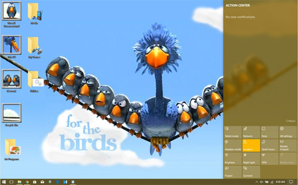 Windows 98 to 10 Theme - For the Birds (Updated)