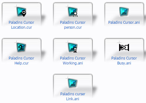 Paladins Mouse Cursors