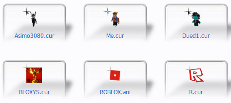 ROBLOX Mouse Cursors