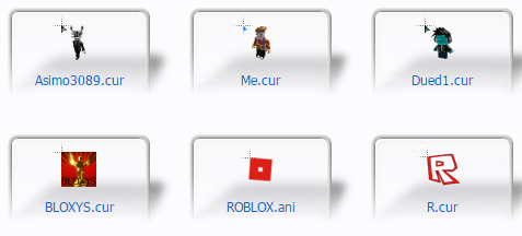 free ROBLOX Mouse Cursors