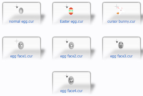 Easter/eggs Mouse Cursors