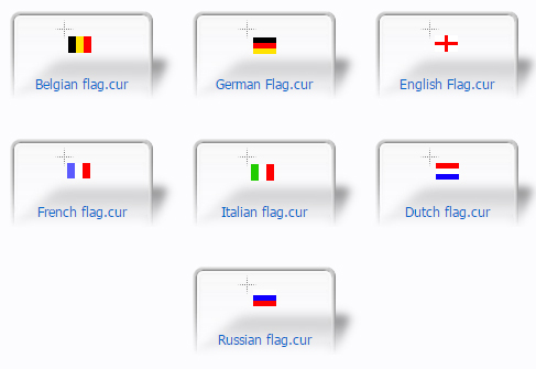 Europe Flag mouse cursor