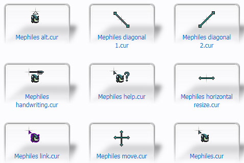 Mephiles Mouse Cursors