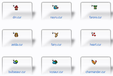 The Sprite Collection Cursors