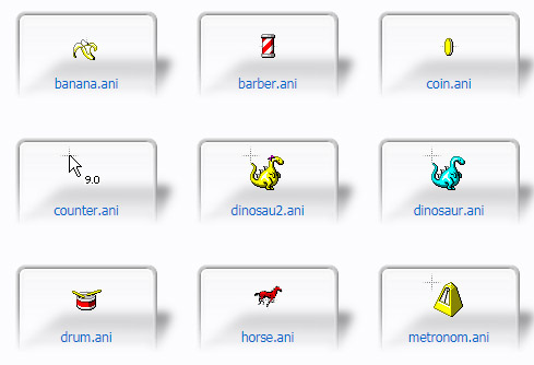 misc windowsXP Mouse Cursors